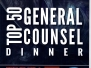 2017 Top 50 General Counsels Dinner